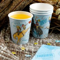 Wild West Cowboys Cups (8)